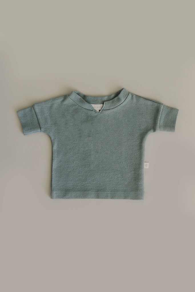 French Terry Top | Sage