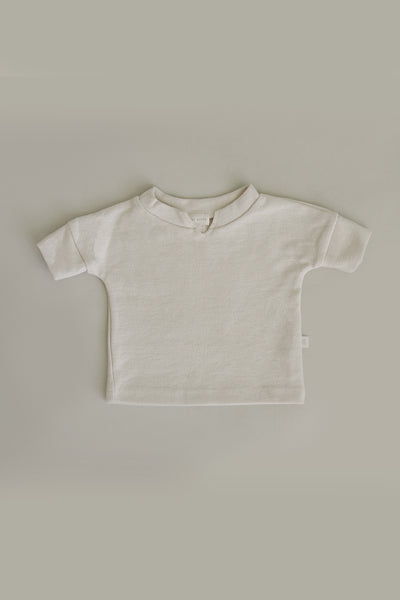 French Terry Top | Natural