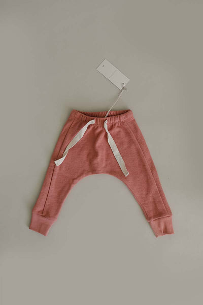 French Terry Joggers | Blush