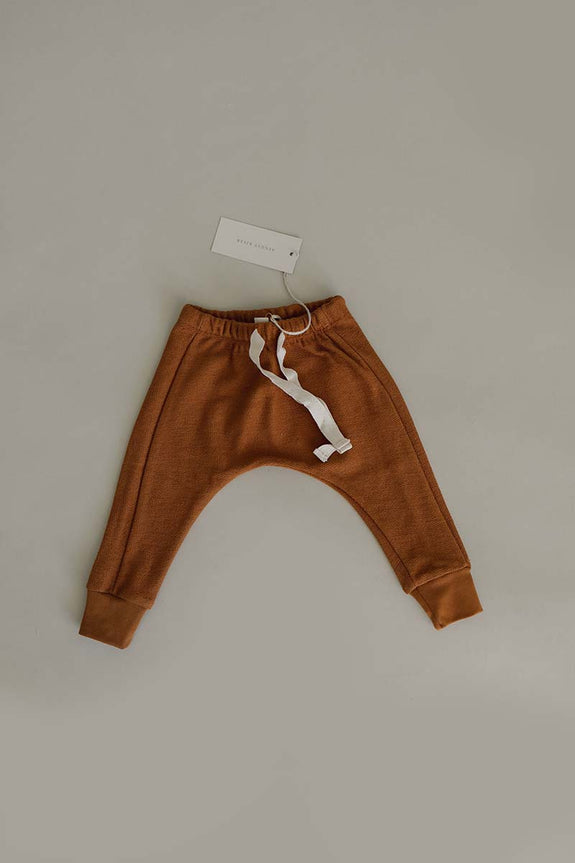 French Terry Joggers | Caramel