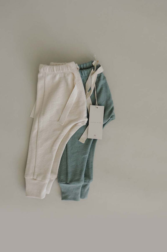 French Terry Joggers | Natural