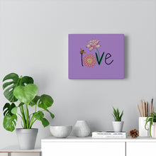 Load image into Gallery viewer, LOVE-Purple Canvas Gallery Wrap