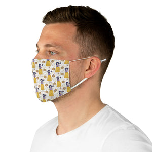 Gemini Fabric Face Cover