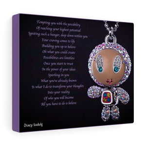 Sparkles Canvas Gallery Wrap