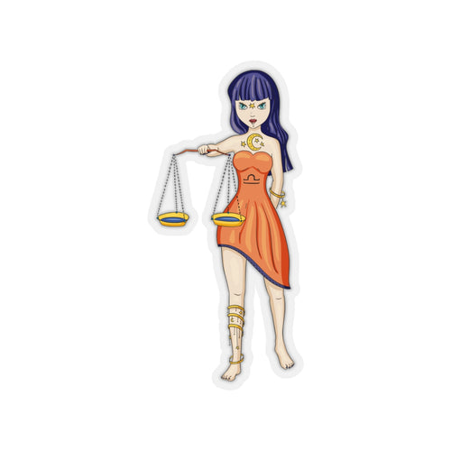 Libra Kiss-Cut Stickers