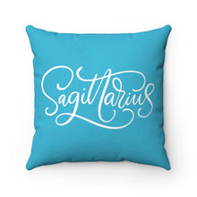 Load image into Gallery viewer, Sagittarius Spun Polyester Square Pillow