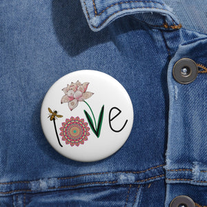 LOVE Pin Buttons