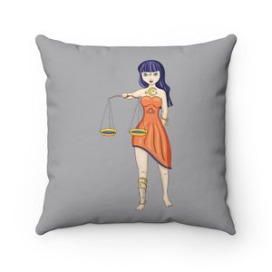 Libra Spun Polyester Square Pillow