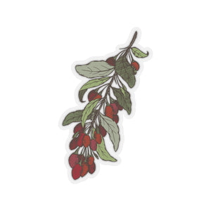 Goji Berry Kiss-Cut Stickers