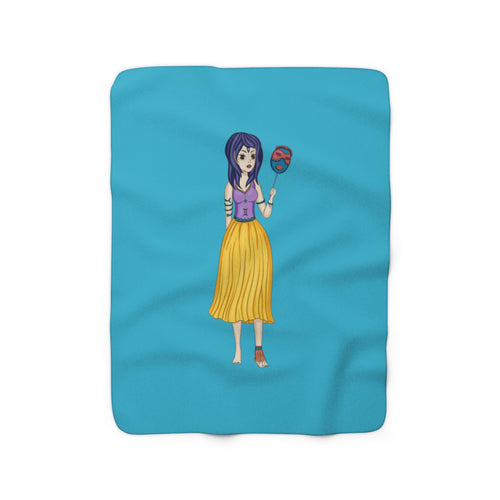 Gemini Sherpa Fleece Blanket