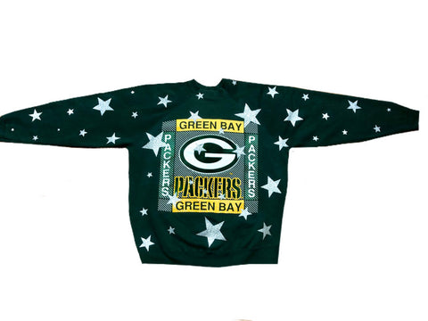 Vintage 90's Green Bay Packers Star Sweatshirt
