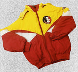 Vtg Florida State Pro Player Puffer Jacket Sz Lrg