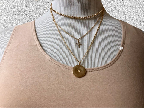 3 Layered Chain Necklace