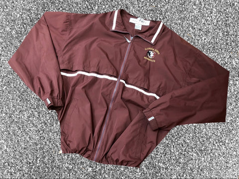Vtg 80's Florida State Windbreaker Sz 2XL