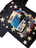 Upcycled Nascar Vintage Rusty Wallace Star Shirt