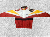 Vtg Florida State Windbreaker Double Seminole Head Jacket Sz Large
