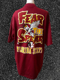 Vtg 90's Fear The Spear Shirt