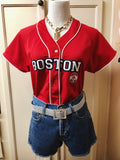 Boston Red Sox (Ladies) Jersey Sz Med