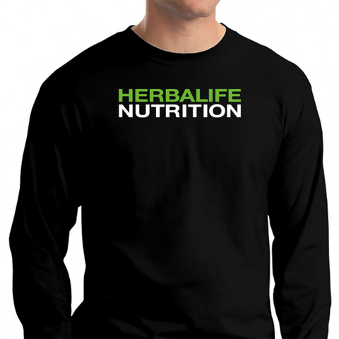 2d8fa1bd Herbalife Nutrition Long Sleeve T-Shirt Black / S T-Shirt - TEPI Store