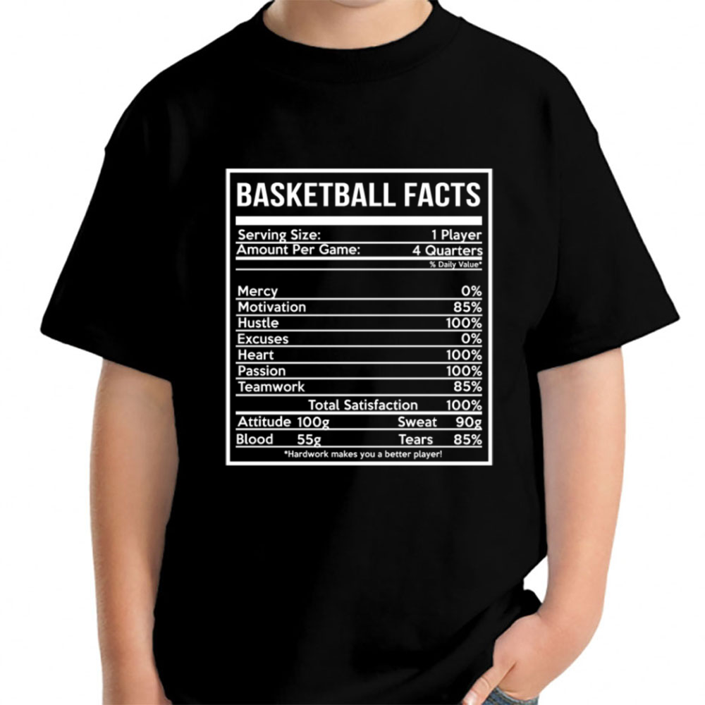 eec852873 Basketball Facts Basketball Girlfriend And Cute Young T Shirt Tepi