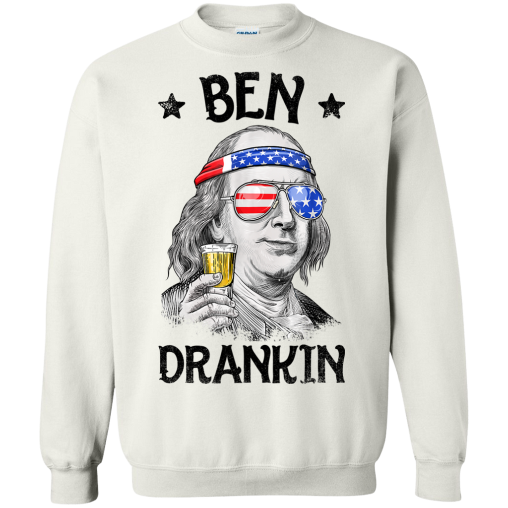 8a47ef13df2d0 4th of July Shirts for Men Ben Drankin Benjamin Franklin Tee (4) Sweatshirt  Sweatshirts