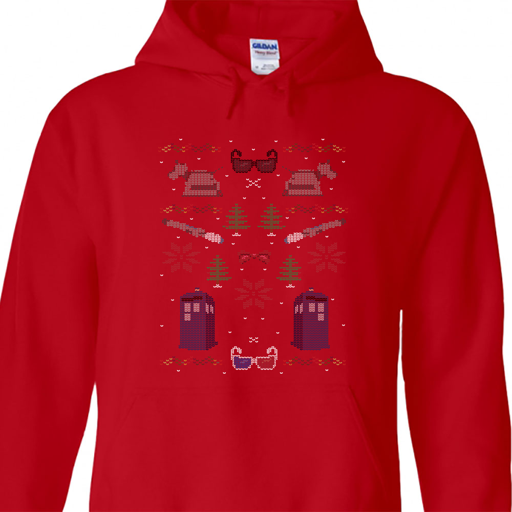 Dr Who Christmas Sweater.Ugly Doctor Who Christmas Sweater Hoodie