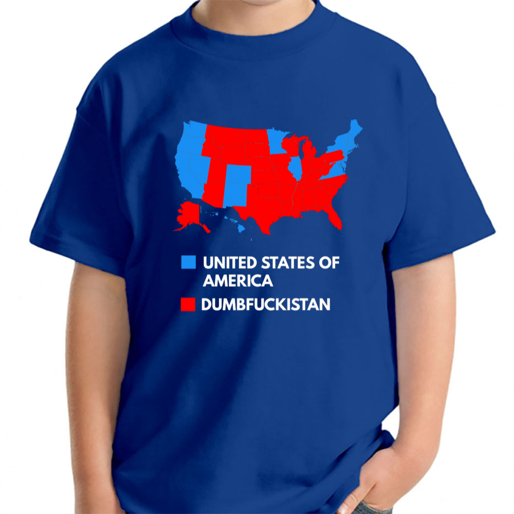606267ed5 Dumbfuckistan Not My President Young T-Shirt Young - TEPI Store