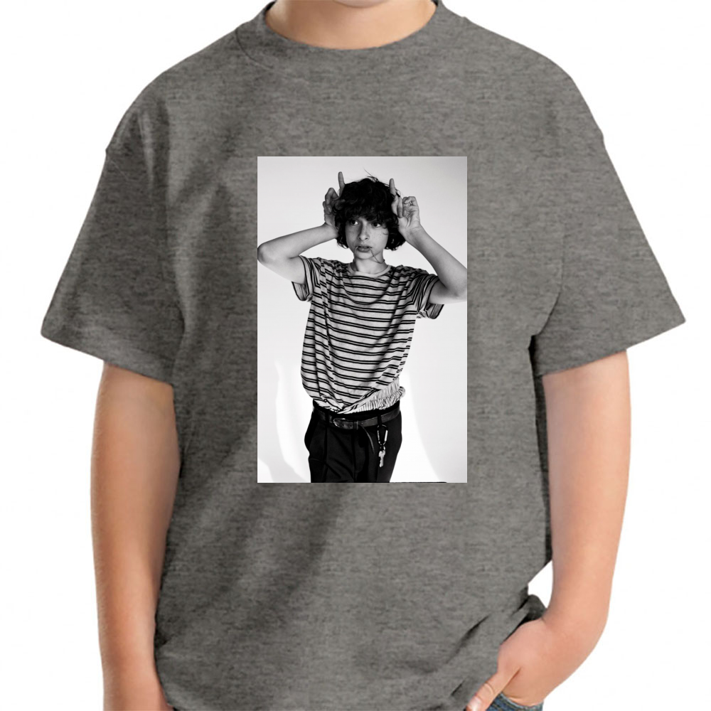 3544a52b Finn Wolfhard Devil Young T-Shirt Young - TEPI Store