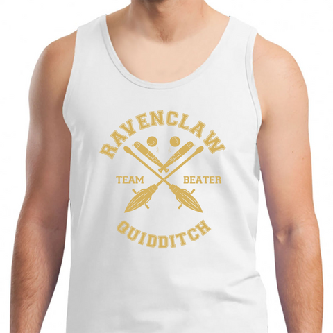 2ce2830591fc2 Ravenclaw - Team Beater - Mens Tank Top White   S Tank Top - TEPI Store