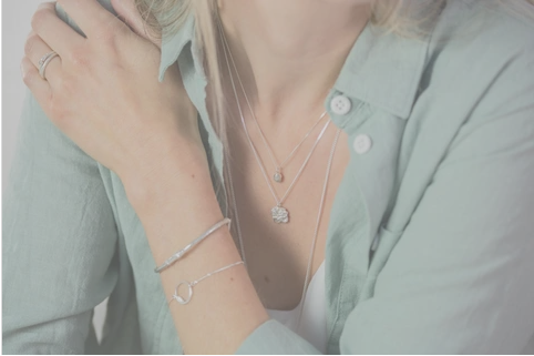 How to layer your jewellery