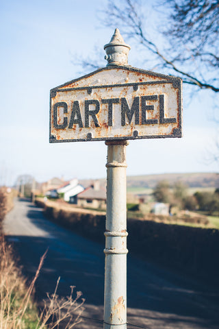 Cartmel Village sign