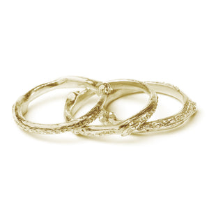 Ivy Twig Stacking Ring