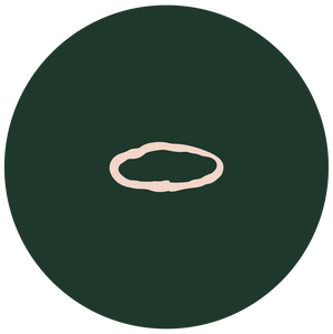 illustration of Stem Stacking Ring on green circle background