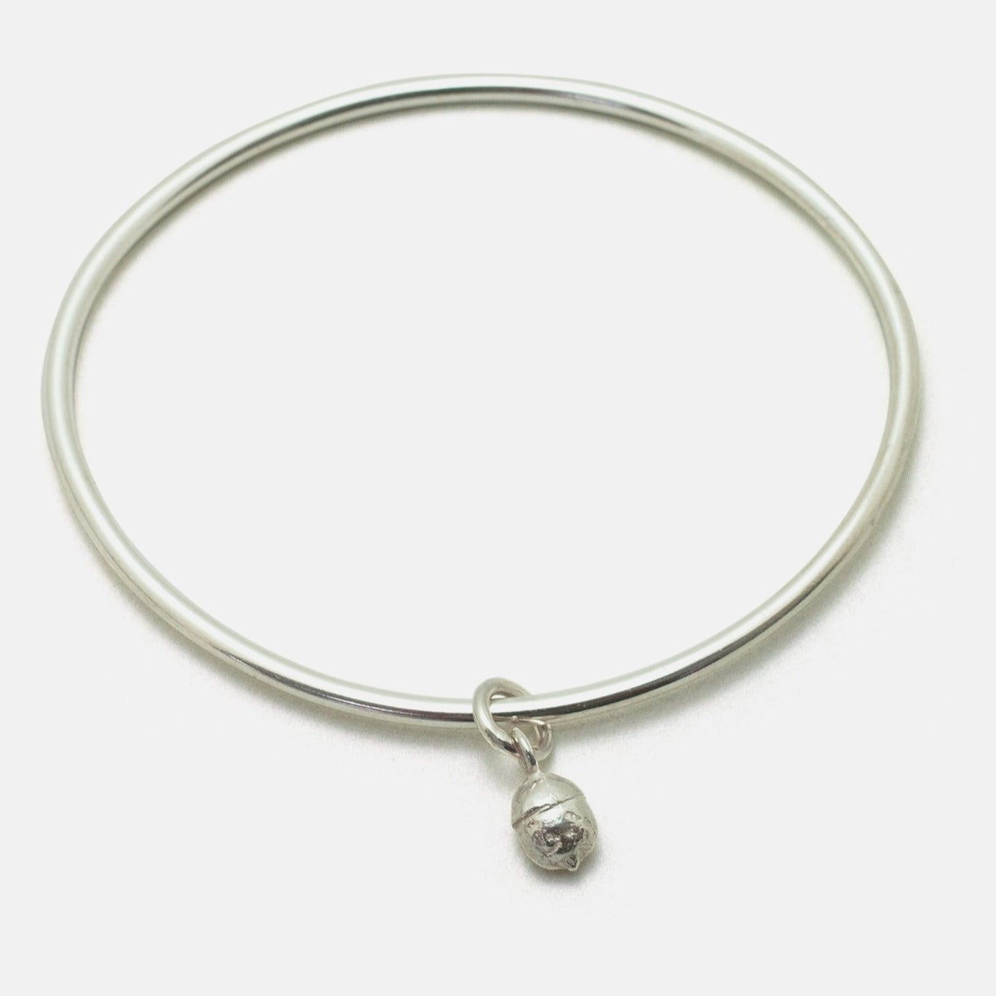 Yew berry charm Bangle