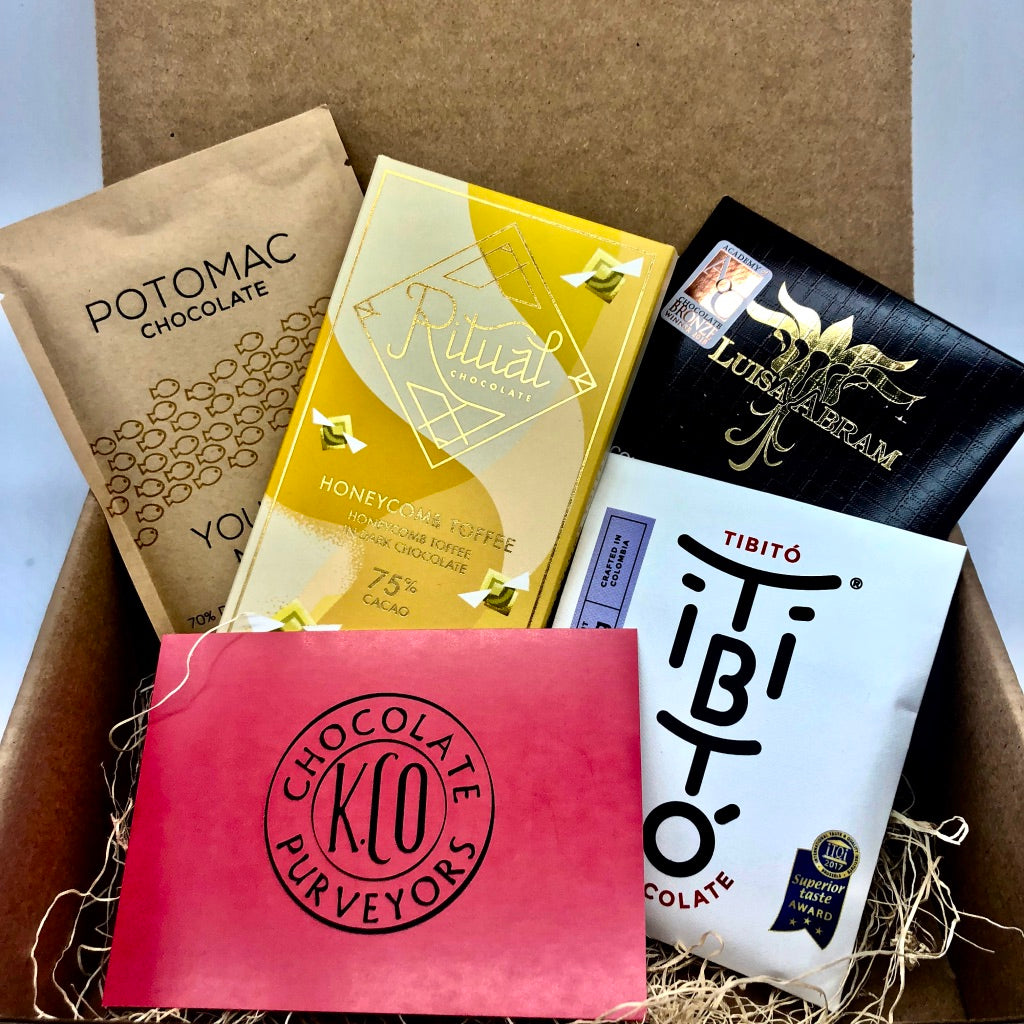 Craft Chocolate Subscription Box