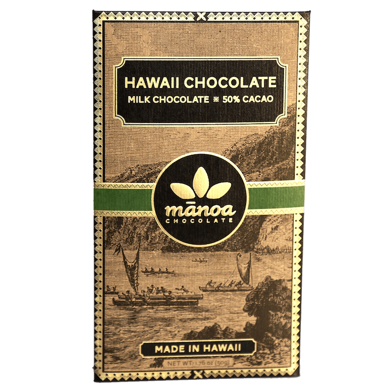 Hawaii Milk Chocolate 50%