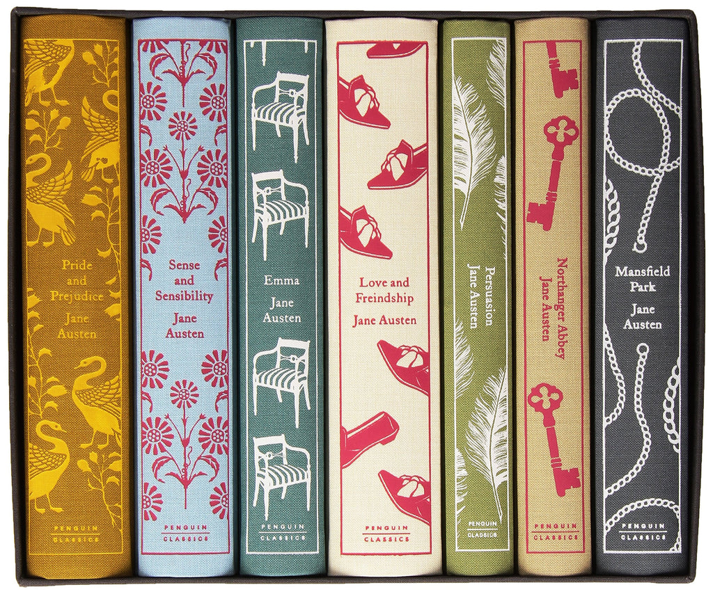 Jane Austen: The Complete Works Hardcover Boxed Set