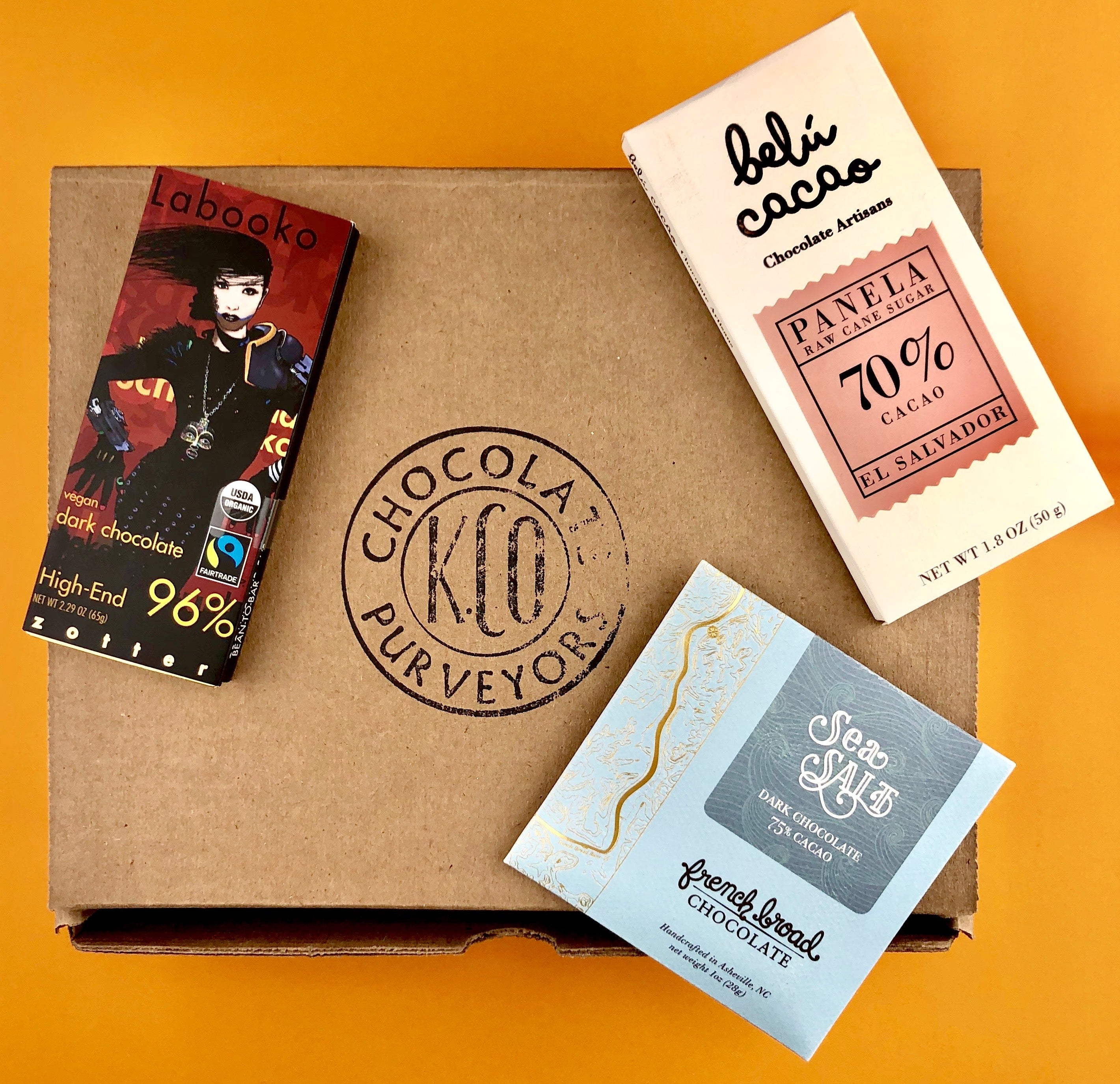 Dark Chocolate Bar May Subscription Box