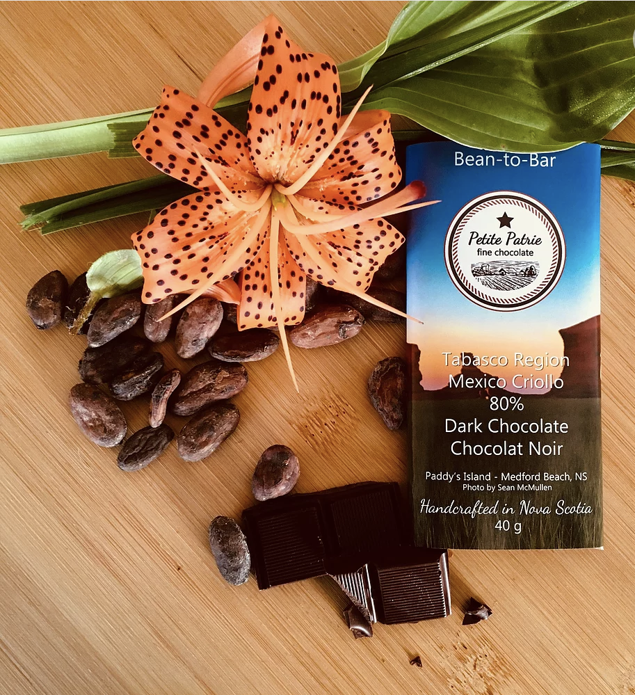 Single Origin Tabasco Region, Criollo 80% Dark Chocolate