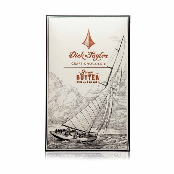 Dick Taylor Brown Butter with Nibs & Sea Salt 73%