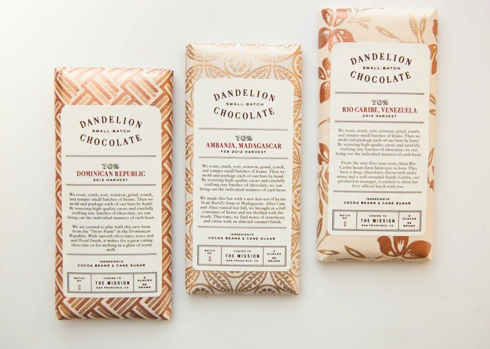 Dandelion Chocolate Bars