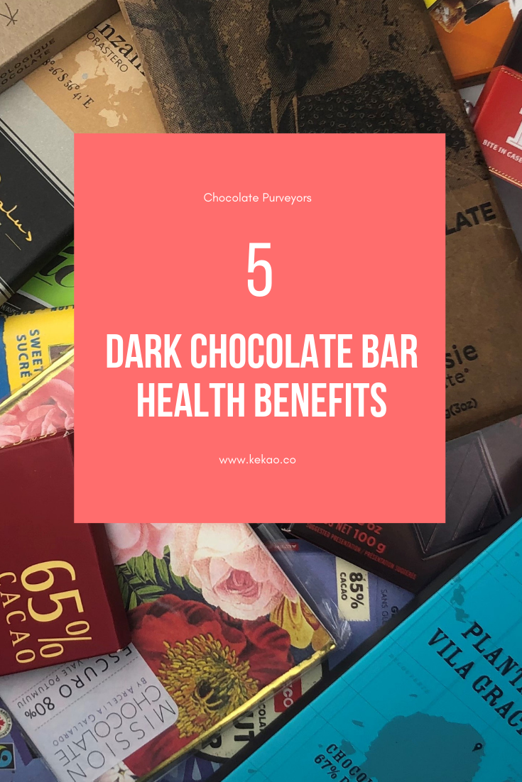 Health Benefits of Dark Chocolate Bars