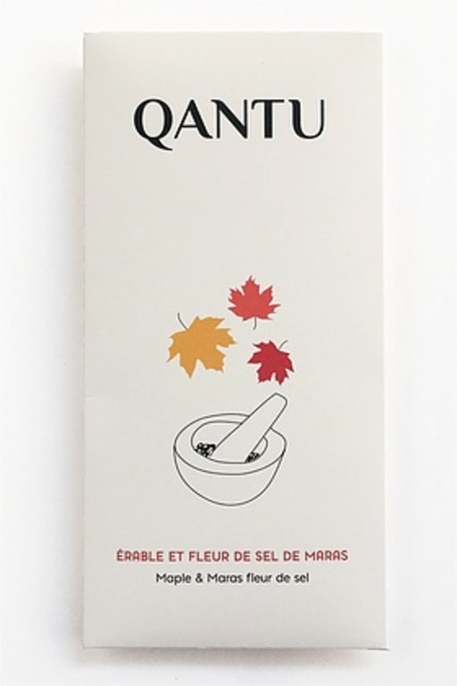 Dark chocolate CHUNCHO 60% - Maple and fleur de sel from Maras