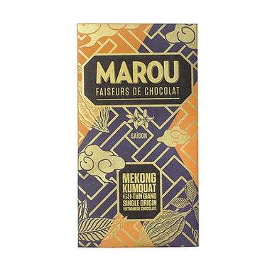 Marou Tien Giang Dark Chocolate with Calamondin Kumquat 68%