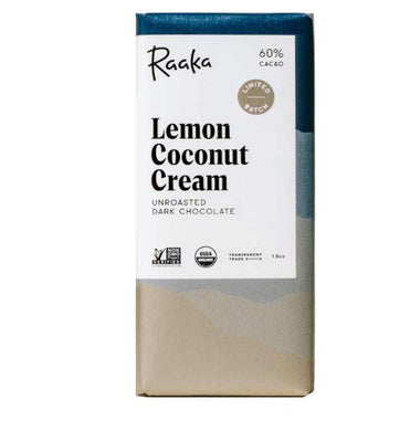 Raaka Lemon Coconut Cream 60%
