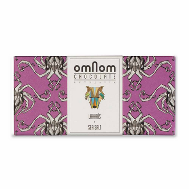 OmNom Lakkris + Sea Salt Chocolate 38%