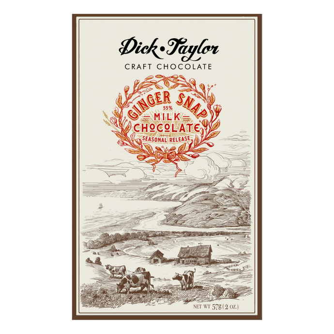 Dick Taylor Ginger Snap Milk 55%