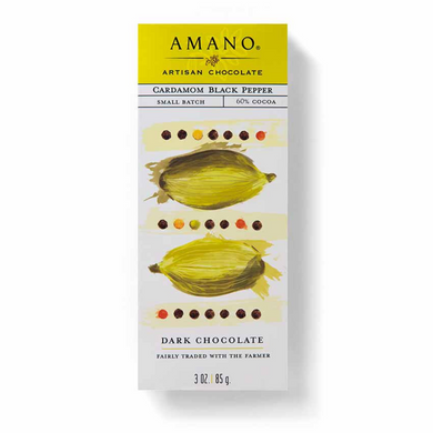 Amano Cardamom Black Pepper 60%
