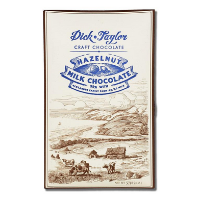 Dick Taylor Hazelnut Milk Chocolate 55%