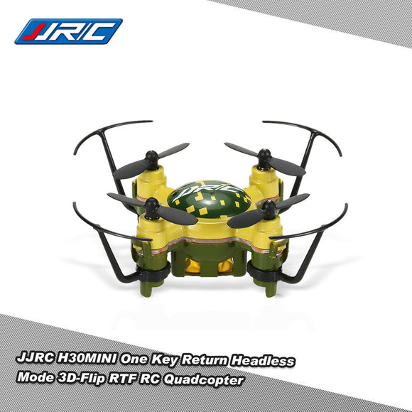 H30 RTF RC Quadcopter Mini Drone with Headless Mode & 3D-Flip